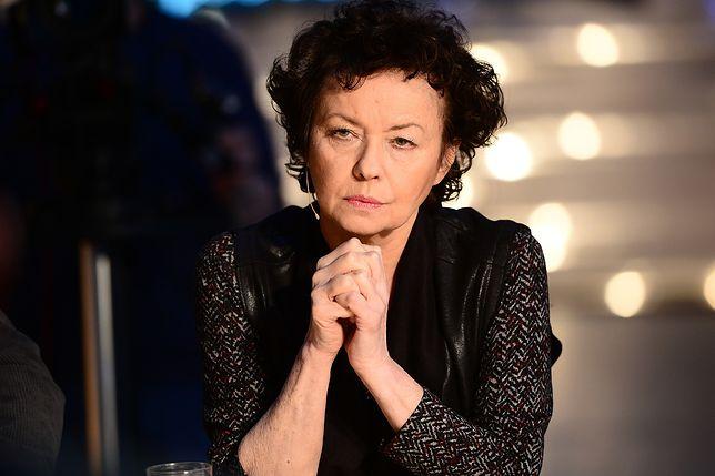 """""""Wstydzę się za tych wszystkich Polaków, którzy nie odczuwają wstydu za haniebne czyny"""" - pisze w """"Rzeczpospolitej"""" Joanna Szczepkowska"""