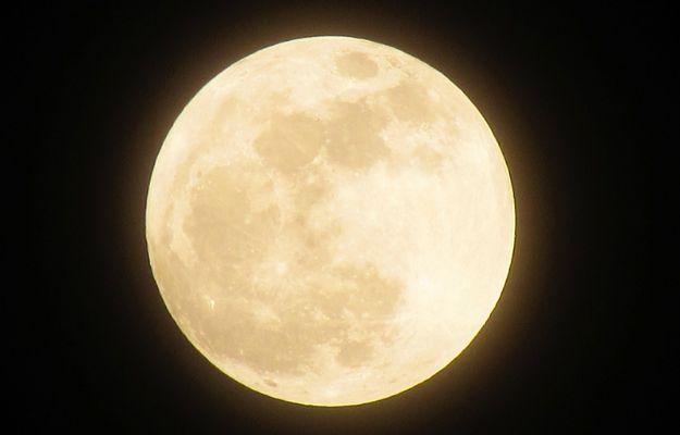 Dziś w nocy zobaczymy superksiężyc