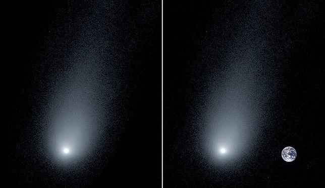 Zdjęcie międzygalaktycznej komety 2l/Borysow.