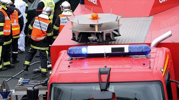 Tragiczny wypadek we Francji. Lotnicze zdjęcia z miejsca katastrofy