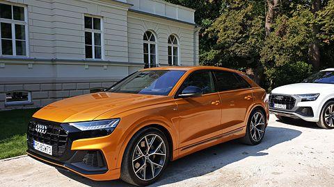 Pierwsze spotkanie z Audi Q8 – przewaga dzięki technice zatwierdzona