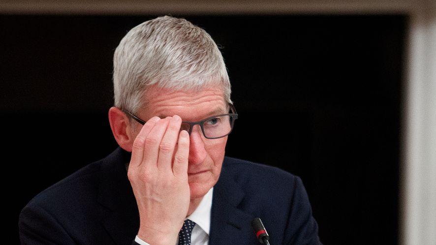 Tim Cook, CEO Apple, fot. Tom Brenner/Getty Images