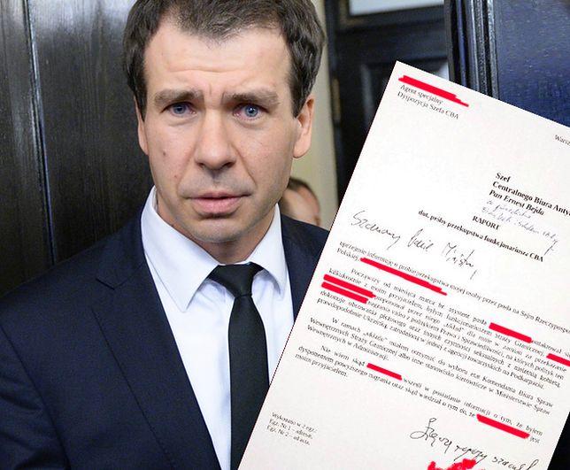 Agent CBA: poseł PiS mnie szantażował. W tle ukraińska prostytutka. CBA: nie ma dowodów