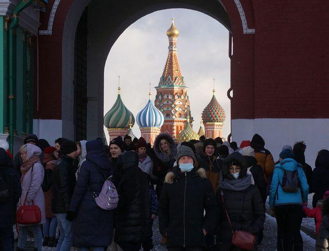 Moskwa na początku marca 2021 r.