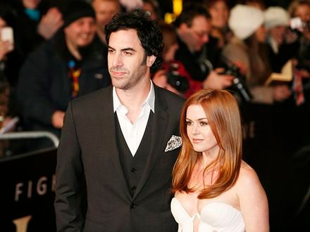 Isla Fisher i Sacha Baron Cohen znów rodzicami
