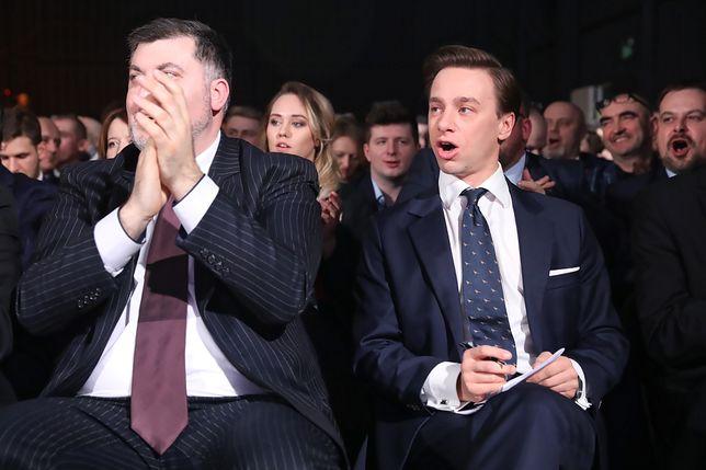 Wybory prezydenckie. Konfederacja przeprowadziła prawybory (od lewej: Artur Dziambor, Krzysztof Bosak)