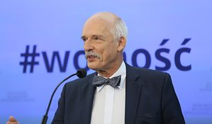 Janusz-Korwin Mikke pożegnał się z Parlamentem Europejskim