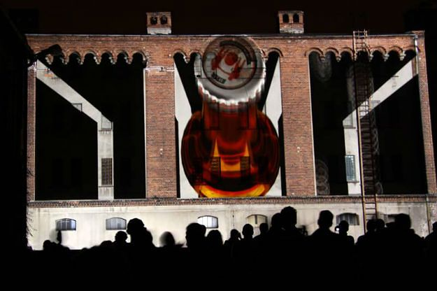 Festiwal mappingu w Tychach. Niezwykłe wizualizacje na ścianach Browaru Obywatelskiego