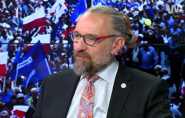 Mateusz Kijowski w programie #dzieńdobryPolsko: nie kłamałem, od wielu miesięcy nie wykonuję usług dla KOD