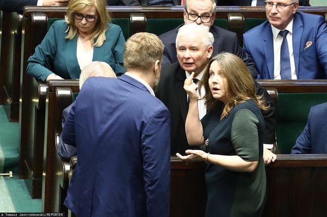 Joanna Lichocka w Sejmie