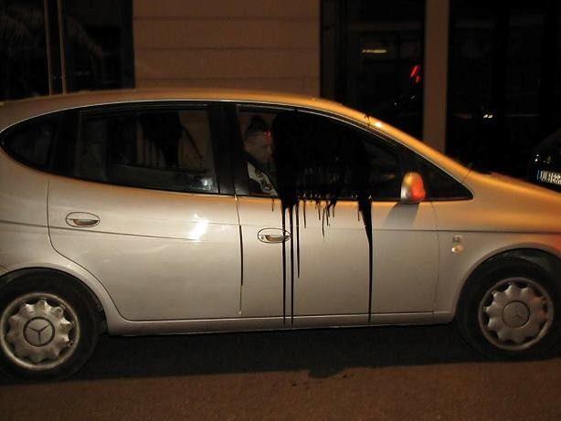 """Taksówkarski Serwis Informacyjny zaprzecza: """"Nie mamy nic wspólnego z atakiem na kierowców Ubera"""" [WIDEO]"""