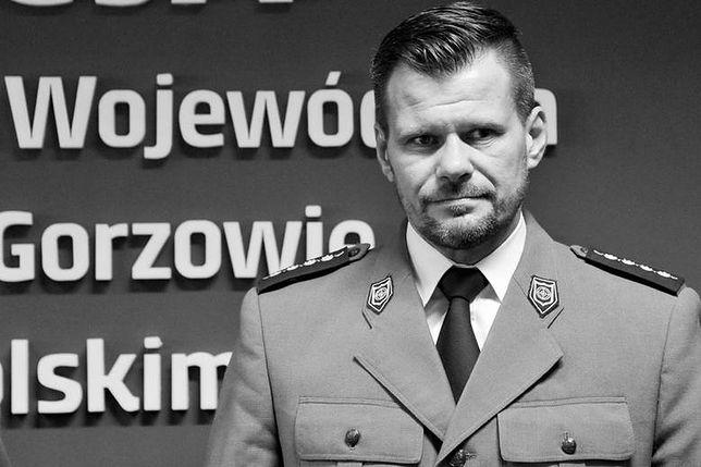 Szef lubuskich antyterrorystów Adam Pawlak zmarł w czerwcu 2018 r.