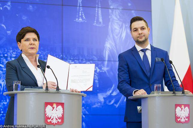 Wybory do PE. Beata Szydło i Patryk Jaki