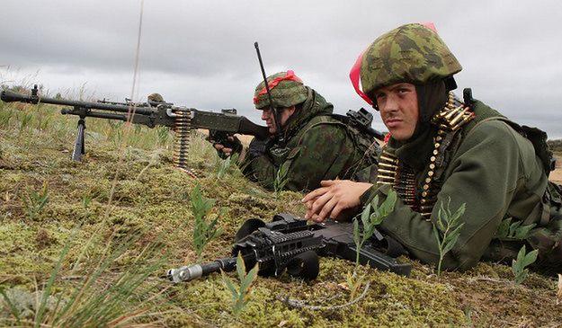 Litewscy żołnierze podczas ćwiczeń NATO