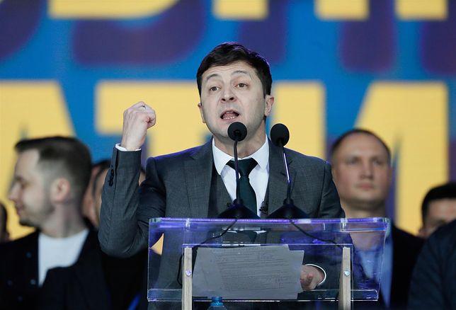 Rywalem Zełenskiego będzie urzędujący prezydent Petro Poroszenko.