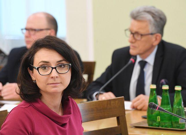 Szefowa klubu Nowoczesnej podczas posiedzenia komisji sprawiedliwości.