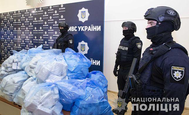 Narkotyki warte 25 milionów dolarów przechwycili ukraińscy policjanci