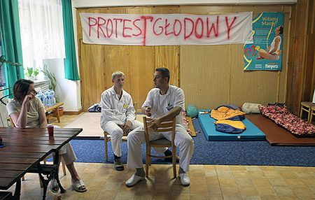 Ewakuowano już 23 pacjentów szpitala w Częstochowie