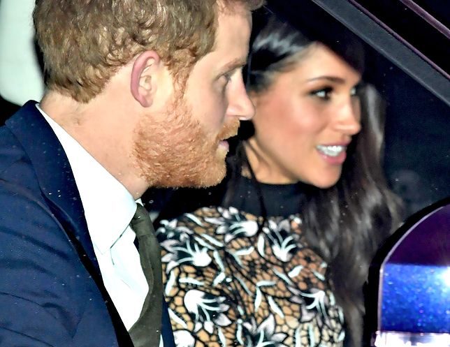 Książę Harry i księżna Meghan idą na wesele