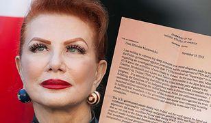 Ambasador USA Georgette Mosbacher jest zażenowana ujawnieniem jej listu do polskich władz