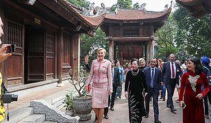 Pierwsza Dama z wizytą w Hanoi