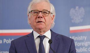 Wyniki wyborów prezydenckich 2020. Jacek Czaputowicz nie zgadza się z zarzutami kierowanymi do MSZ