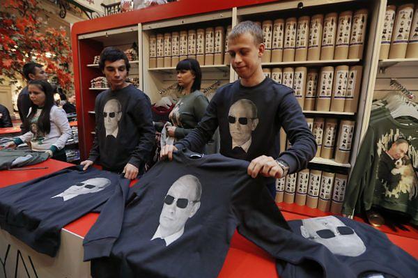 Urodziny Putina. Rosjanie ruszyli do sklepów
