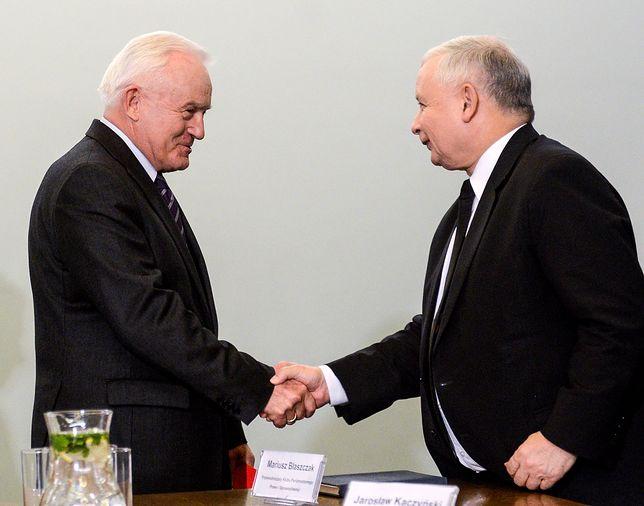 Leszek Miller i Jarosław Kaczyński