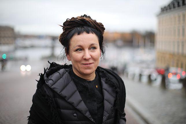 Olga Tokarczuk stanęła w obronie karpi