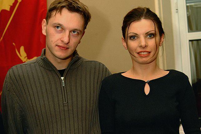 Agnieszka Dygant i Marcin Władyniak w 2001 r.