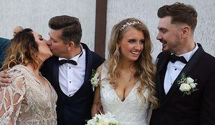 """""""Nie chcieliśmy tego wesela"""". Odradzała synowi ślub, a sama wyszła za mąż w ciąży"""