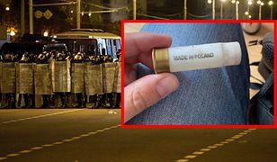 """Polska amunicja na Białorusi. """"Od wejścia w życie sankcji nie sprzedajemy jej do tego kraju"""""""