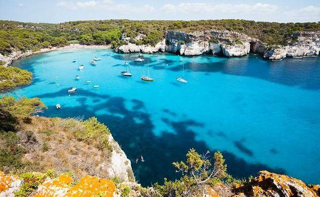 Najpiękniejsze plaże - Cala Macarelleta, Minorka