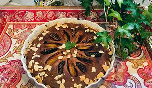 Ciasto śliwkowo-figowe