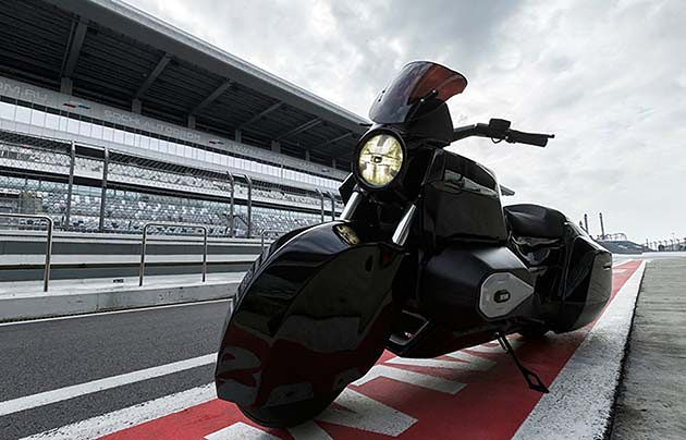 Motocykl rosyjskich służb ma osiągać prędkość 250 km/h.