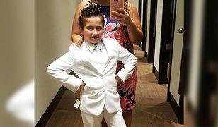 9-letnia Cady chciała przystąpić do Komunii w białym garniturze
