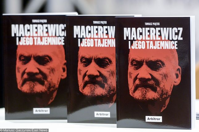 """Książka Tomasz Piątka """"Macierewicz i jego tajemnice"""""""