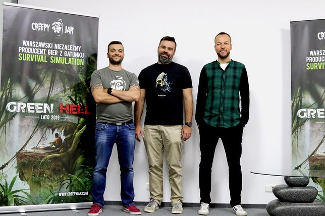 """Twórcy gry """"Green Hell"""""""