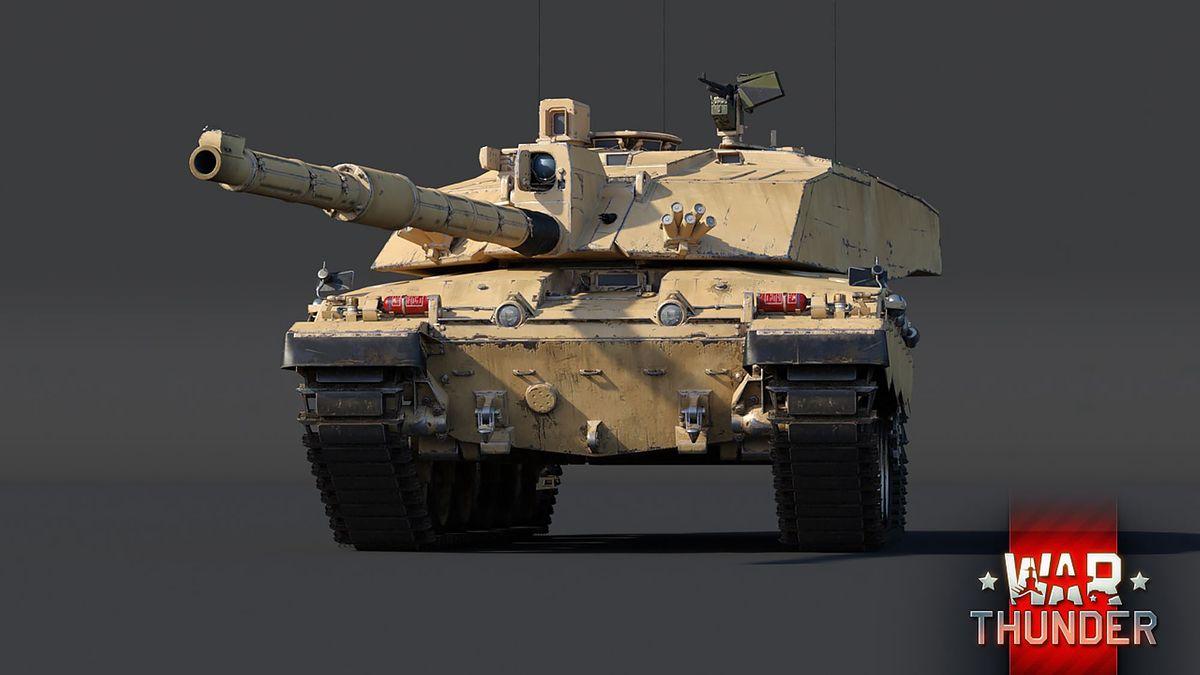 Czołg Challenger 2 w grze War Thunder