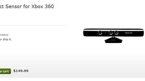 Kinect za 150 dolarów w sklepie Microsoftu. Nowa generacja za 5 lat