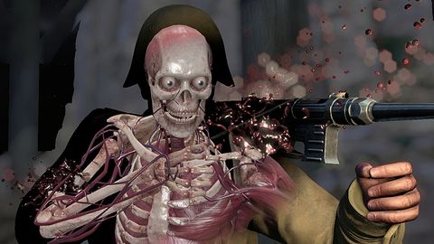 Sniper Elite III: Afrika — ręka, noga, mózg na ścianie