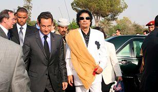 Policja zatrzymała byłego prezydenta Francji. Sarkozy miał przyjąć miliony od Kadafiego