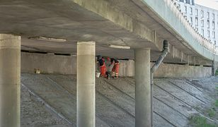 Warszawa. Drogowcy remontują wiadukty na Woli