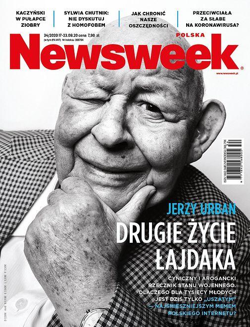 Okładki tygodników. Jerzy Urban jako król internetu