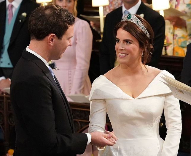 Księżniczka Eugenia jest już mężatką