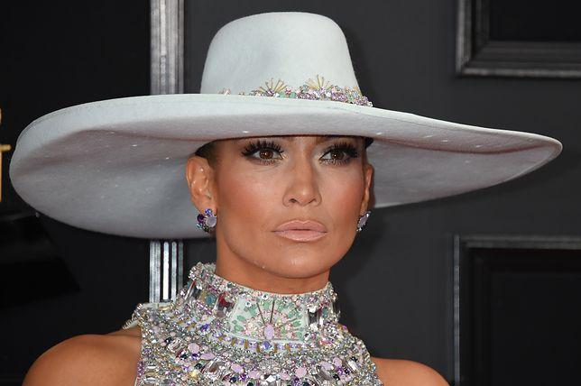 Jennifer Lopez pojawiła się na gali wręczenia Grammy 2019