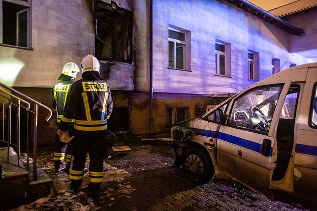 Pomorskie. Pożar w hospicjum w Chojnicach, są ofiary