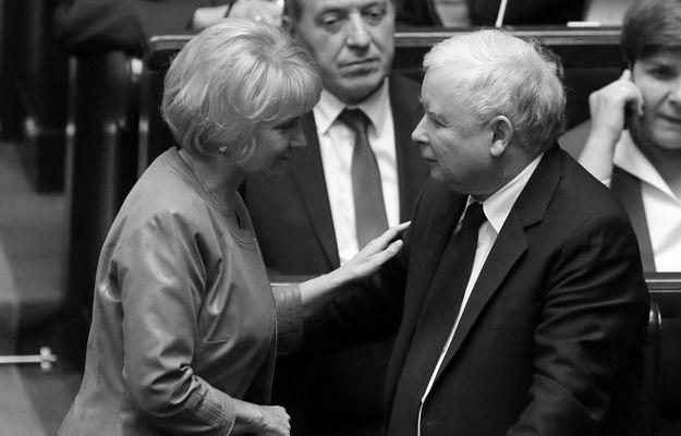 Jolanta Szczypińska nie żyje. Jarosław Kaczyński: to wielki cios