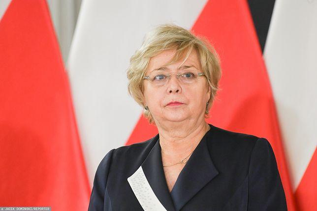 I Prezes SN zareagowała na słowa prezydenta Andrzeja Dudy