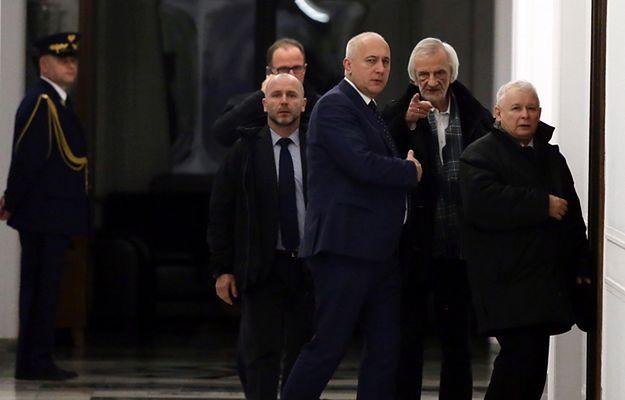 Wicemarszałek Sejmu Ryszard Terlecki o posłach opozycji: słyszysz tych pajaców?